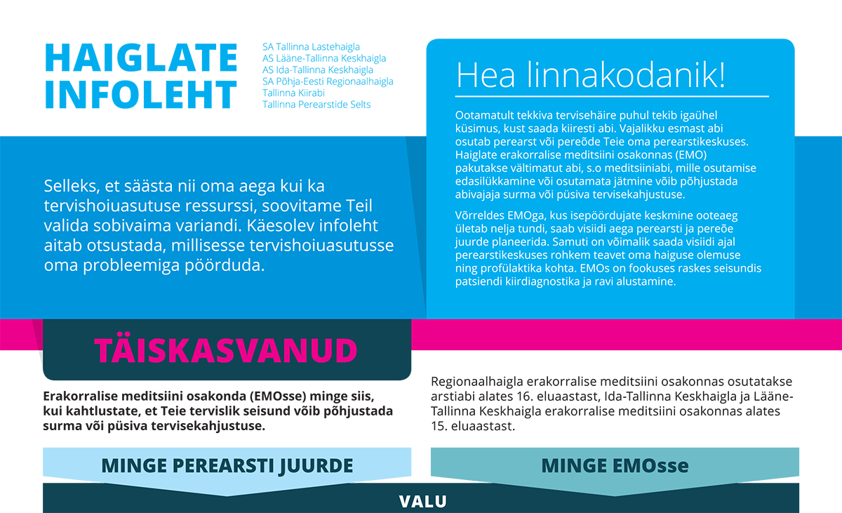 Tallinn Family Health Centre information sheet